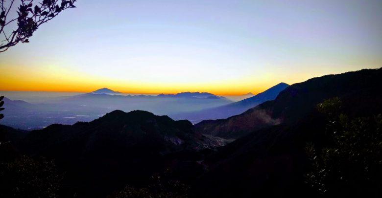 Cantiknya Gunung Papandayan