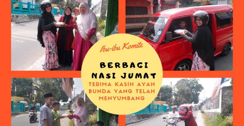 Gerakan Berbagi Nasi Jumat Sekolah Alam Indonesia Sukabumi