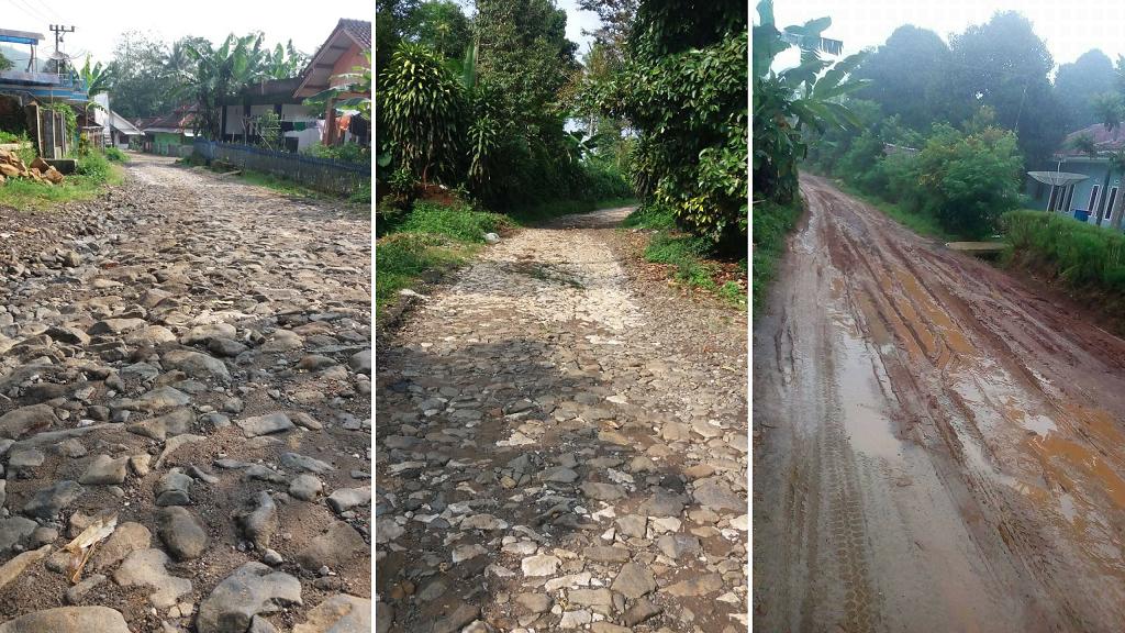 Jalan Kabupaten Daerah Cicantayan