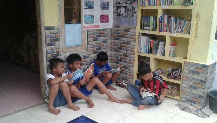 Taman Baca Masyarakat Pondok Ilmu