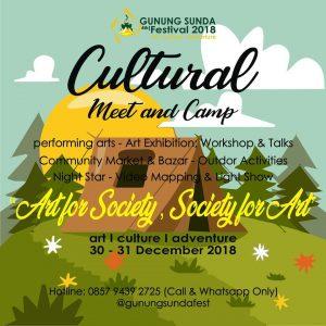 Tema Acara Festival Gunung Sunda Sukabumi 2018