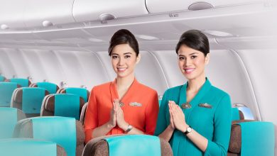 Terbang bersama Garuda Indonesia