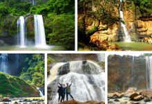 Air terjun Ciletuh Geopark Sukabumi