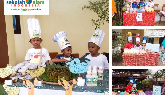 Market day sekolah alam indonesia