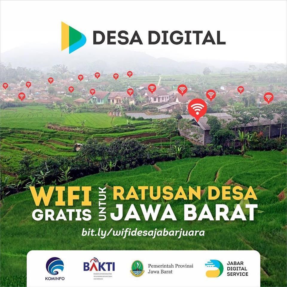 wifi gratis desa digital jawa barat