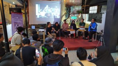 Foto Talkshow Pameran Fotografi Pendidikan Anak-Anak Pelosok Sabumi Volunteer