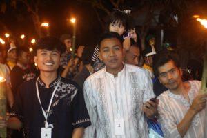 Kaum Pemuda Kampung Citampian Sebagai Bagian Penting dalam Pawai Obor di Pabuaran Sukabumi