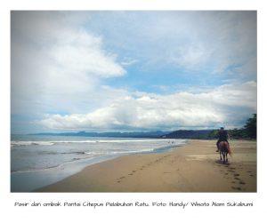 Pasir dan Ombak Pantai Citepus Sukabumi