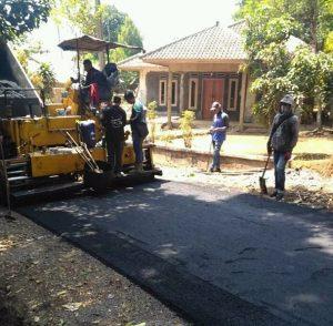 Proses Pembangunan Jalan Kampung Cijati Sukabumi