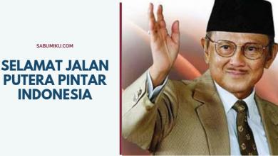 Selamat jalan putera pintar indonesia BJ Habibie