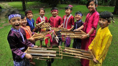 Tempat berlibur keluarga di bandung saung angklung udjo