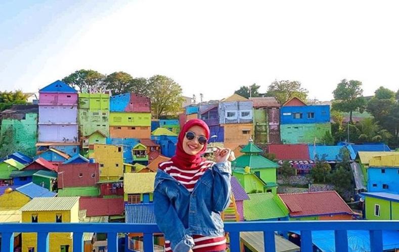 Kampung Jodipan Malang. Sumber: IG astried_gieta