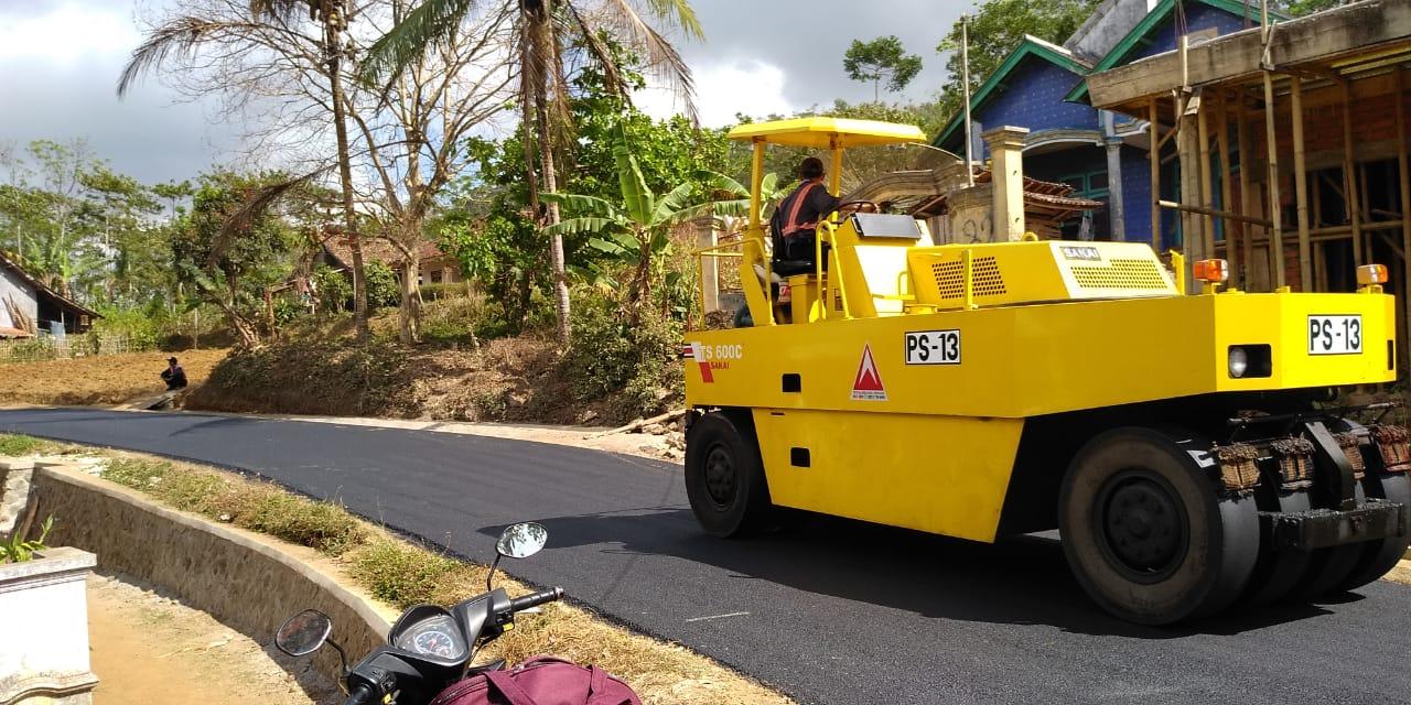 Pembangunan Akses Jalan Pabuaran Sukabumi