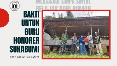 Bakti untuk Guru Honorer Sukabumi