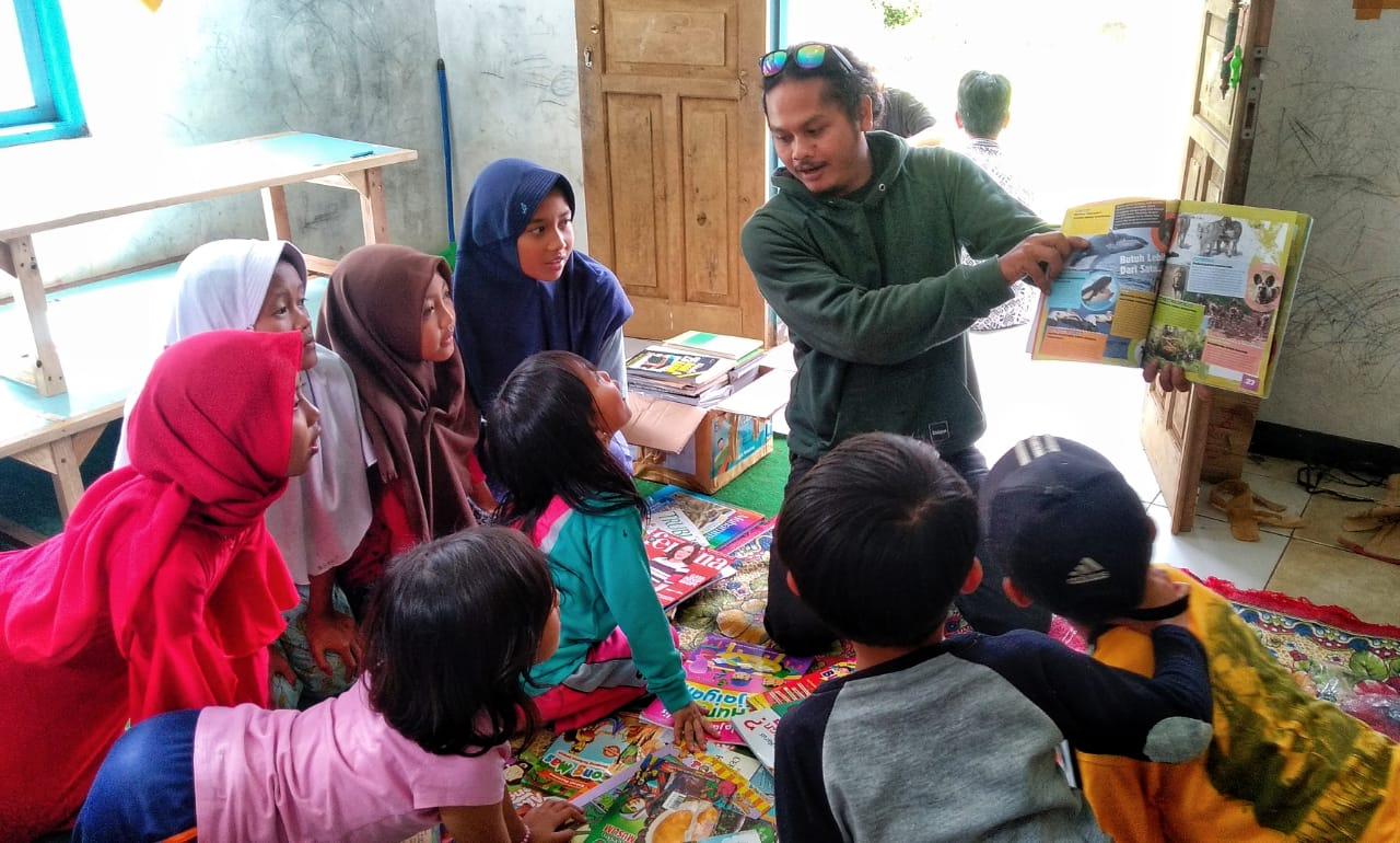 Donasi Taman Baca Masyarakat Sukabumi Penting Sekali