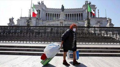 Italia Lockdown. Sumber https://www.aa.com.tr/