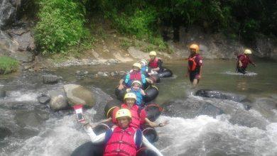 Leuwi paranje river tubing di garut