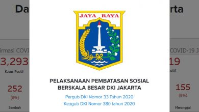 Peraturan Gubernur Nomor 33 Tahun 2020 tentang Pelaksanaan PSBB DKI Jakarta