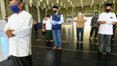 Adaptasi Kebiasaan Baru di Masjid Jawa Barat