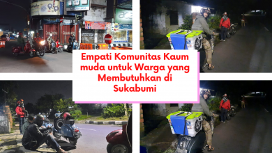 Empati Komunitas Kaum muda untuk Warga yang Membutuhkan di Sukabumi