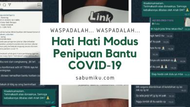 Hati-Hati Modus Penipuan Bantu COVID-19