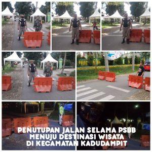 Jalan di Kecamatan Kadudampit Menuju Situgunung Sukabumi Ditutup Sementara