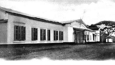 Bangunan Stasiun Sukabumi tahun 1880