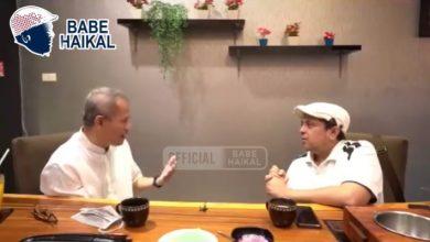 Haikal Hasan Bertanya tentang Pengelolaan Dana Haji kepada Anggito Abimanyu