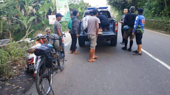Perjalanan Sepeda Onthel Sabumi Volunteer
