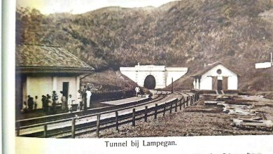 Terowongan Lampegan Jalur Kereta Api Sukabumi-Cianjur