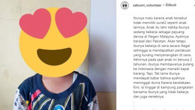 Anak Mantan TKW di Sukabumi Ingin Sekolah