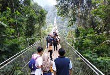 Jembatan Situgunung Sukabumi Dibuka Kembali