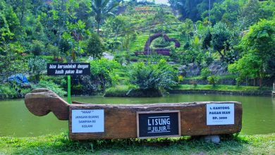 Kampung Lisung Uyut Sukabumi. Foto Nura