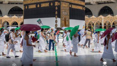 Pelaksanaan Musim Haji Tahun 2020. Foto @HaramainInfo