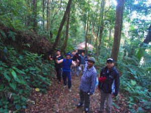 Perjalanan ke Curug Cibeureum Sukabumi