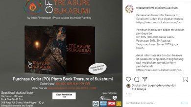 Promosi Buku Karya Fotografi Treasure of Sukabumi