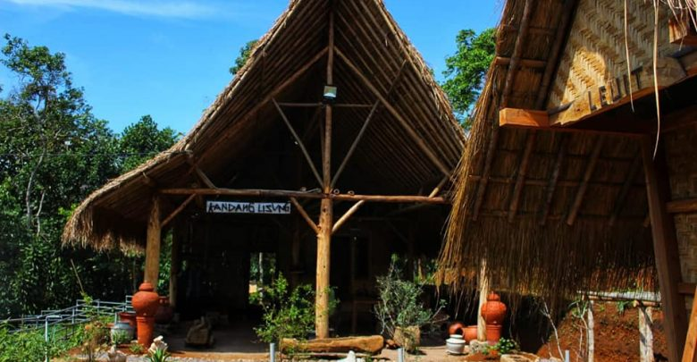 Rumah Lisung Uyut Daya Tarik Bagi Wisatawan ke Sukabumi. Foto Nura