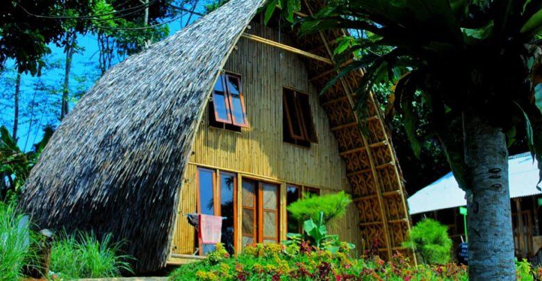 Rumah Tradisional di Kampung Lisung Uyut Sukabumi. Foto Nura