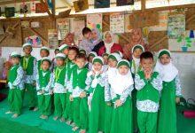 Sekolah Gratis TK Alam Cerdikia Al-Insani Ketika Acara Perpisahan Juni 2020