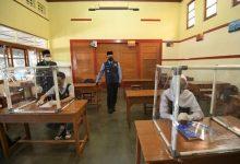 Simulasi Belajar Tatap Muka di Sekolah Kota Sukabumi