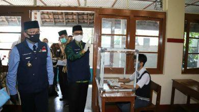 Walikota Sukabumi menjelaskan simulasi KBM tatap muka di sekolah