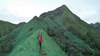 Gunung Piramid Bondowoso Jawa Timur. Foto IG@bintang.mares