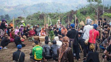 Masyarakat Kampung Kasepuhan Ciptagelar. Foto Harri Aditya
