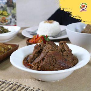 Rendang Masakan Terlezat di Dunia Dijual Kemasan dan Lebih Mudah Disajikan