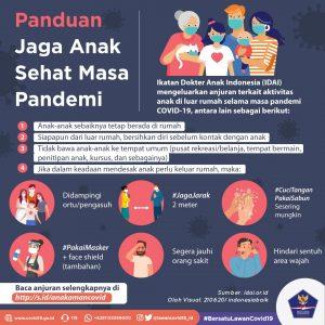 Panduan Jaga Anak Sehat Masa Pandemi