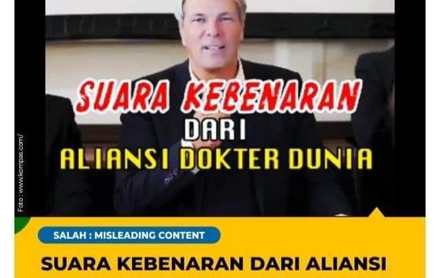 Pernyataan Aliansi Dokter Dunia Misinformasi