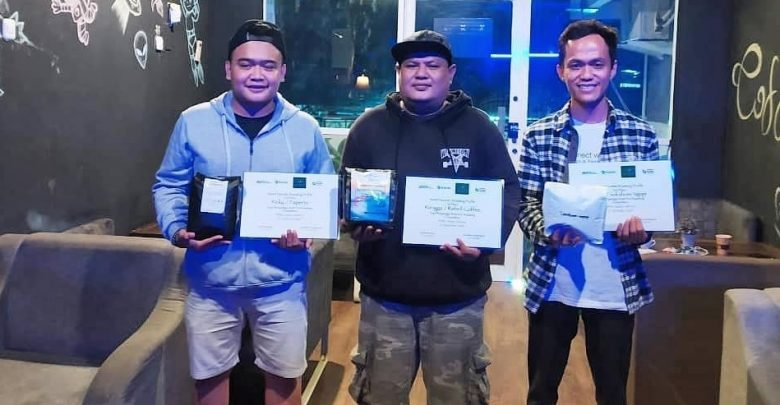 Dede Rizal, Owner SundaCoffee pemilik usaha kopi di Sukabumi Bersama Pemanang lainnya