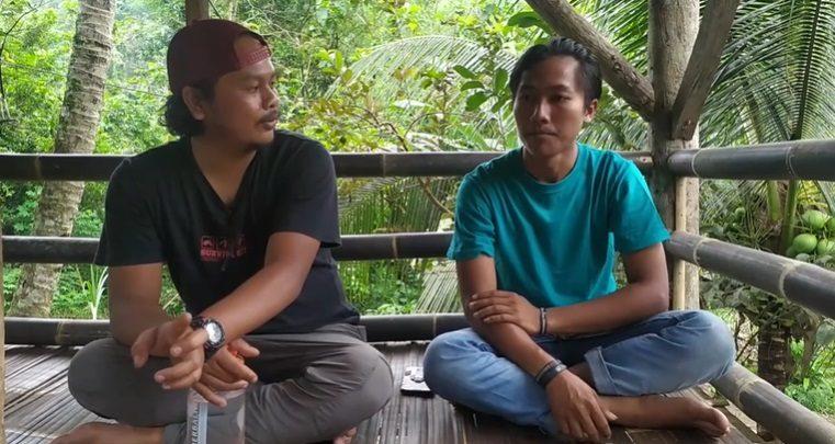 Fajar Pengelola Saung edukasi Sukabumi