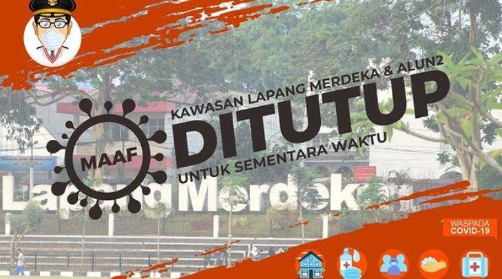 Lapangan Merdeka Sukabumi Tutup