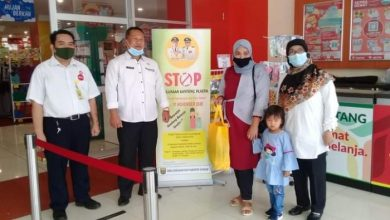 Stop Pakai Kantong Plastik di Pusat Perbelanjaan Kabupaten Sukabumi